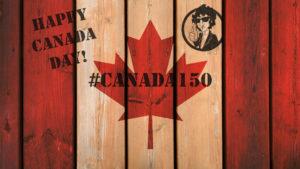 CanadaFLagWood